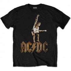 Tricou AC/DC - Angus Statue, L, S