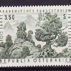 AUSTRIA 1967 – ARBORI, PADURE timbru nestampilat UN138