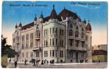 Cluj Kolozsvar,Camera de Comert si Industrie,actuala Prefectura,animata  ed 1910, Cluj Napoca, Circulata, Printata