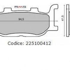 Placute frana (Sinter) Yamaha SR /TDR /XV /T-Max / FZ6/ XJ/ 125-1700 Skyliner 25 Cod Produs: MX_NEW 225100412RM