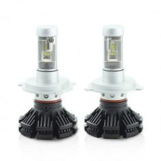 H4 LED pt faruri 12-24V - 4000 Lumeni Super White Carguard