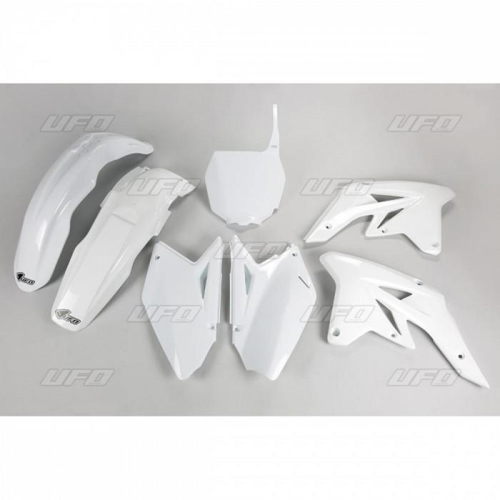 Kit plastice albe Suzuki RMZ 250 2009 Cod Produs: MX_NEW 14031273PE foto mare