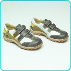 NOI, DE FIRMA → Pantofi sport—adidasi, din piele, MELANIA → baieti | nr. 32 - Pantofi copii Melania, Culoare: Multicolor, Piele naturala
