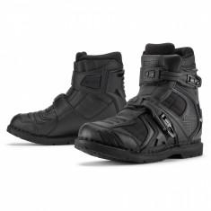 Ghete moto Icon Field Armor 2, negru, 44 Cod Produs: MX_NEW 34030567PE