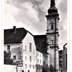 Cluj Kolozsvar Biserica si Manastirea Ordinului Franciscanilor 1940 - Carte Postala Transilvania dupa 1918, Necirculata, Fotografie, Cluj Napoca