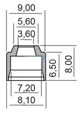 Semering supapa Yamaha FZ1 1000 N 1EC4 RN16H 2012- 2014 Cod Produs: MX_NEW 7349160MA foto