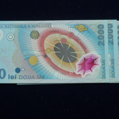 2000 LEI 1999 ECLIPSA. LOT DE 5 BUC. SERII CONSECUTIVE
