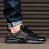 Adidasi 100 % originali Nike Air Presto- ADIDASI BARBATI, 40, Negru, Textil