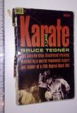 RARA - CARTE  KARATE - BRUCE TEGNER -1968