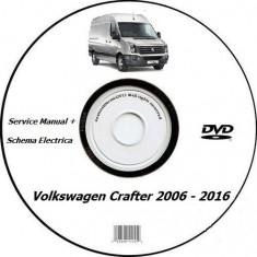 Volkswagen Crafter 2006 - 2016 Service Manual + Schema Electrica - Manual auto