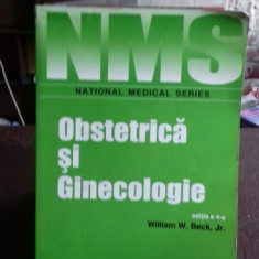 OBSTETRICA SI GINECOLOGIE - WILLIAM W. BECK - Carte Obstretica Ginecologie