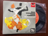 Max greger quickstep max gregers tanzturnier single disc vinyl muzica jazz, VINIL, Polydor