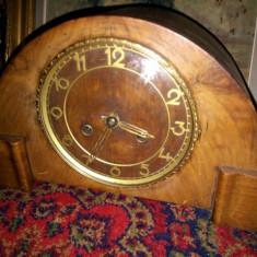 Ceas antic pentru semineu sau birou Art-Deco cu mecanism muzical