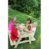 Masa cu Bancute si Lada de Nisip Table Sable, Soulet