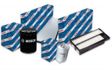 Pachet filtre revizie BMW Seria 5 TOURING (E34) 540 I 286 CP (09.1993 >) BOSCH - set filtru aer, ulei, combustibil, polen
