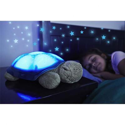 Lampa Veghe Copii Proiector Tavan Broscuta Muzicala + USB foto