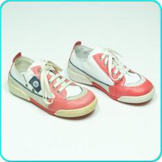 NOI, DE FIRMA → Pantofi sport—adidasi, din piele, MELANIA → baieti | nr. 30 - Pantofi copii Melania, Culoare: Din imagine, Piele naturala