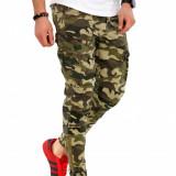 Pantaloni army camulfaj - PREMIUM - conici - slim fit - A1125 G5, Din imagine