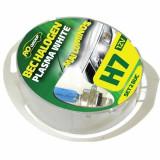 Set 2 becuri auto cu halogen H7 Plasma White, 12V, RoGroup