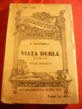 E.Lovinescu - Viata dubla - anii'40 Ed.definitiva BPT 1415-1416 , 198 pag