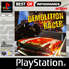 Demolition Racer - Best of Infogrames  - PS1 [Second hand], Multiplayer, Curse auto-moto, Toate varstele