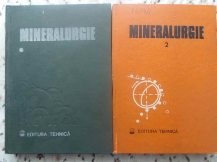Mineralurgie Vol.1-2 - Coordonator: Mircea Guran ,414406 foto mare