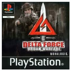 Delta Force: Urban Warfare - PS1  [Second hand], Single player, Shooting, 16+