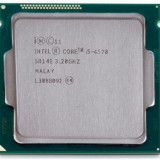 Procesor Intel Core i5 4570, 4 nuclee, Frecventa 3.20 GHz, 6MB , sk 1150,cooler