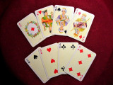 Carti joc voiaj stil Art Nouveau, Piatnik-Austria, colectie, vintage