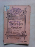 B.P.T nr 318, Tannhauser  , lupta cantaratilor de la Wartburg  - RICHAR WAGNER