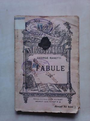 B.P.T nr 303 , Fabule - GEORGE RANETTI foto
