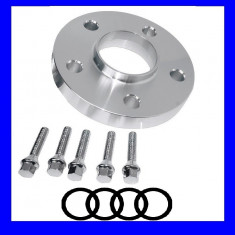 Distantiere Audi 5x112 13mm + 5 Prezoane M12 sau M14 AL-131017-5