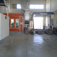 Cabina pregatire-vopsire Spanesi