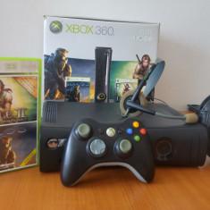 Xbox 360 Microsoft Elite + Halo 3 & Fable II Original, modat LT 3.0, HDD 120 GB+ 19 jocuri