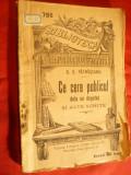 DD.Patrascanu - Ce cere publicul de la un deputat -1912- BPT 786 Ed.Libr.Alcalay