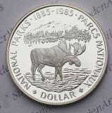 Canada - 1 dollar 1985 (argint) - PROOF, America de Nord
