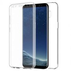 Husa Samsung Galaxy S8 - Protectie 360° Fata Spate Full Cover, Gel TPU, Carcasa