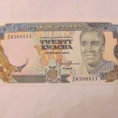 CY - 20 kwacha 1989 Zambia / UNC