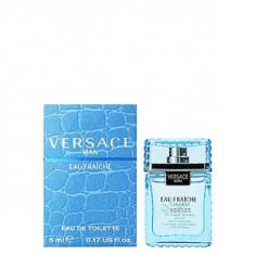 Versace Versace Man Eau Fraiche EDT mini 5 ml pentru barbati, Apa de toaleta