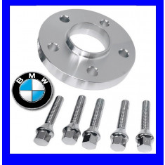 Distantiere Jante 5x120 20mm compatibil BMW + 5 Prezoane M12 sau M14 AL-TCT-1167