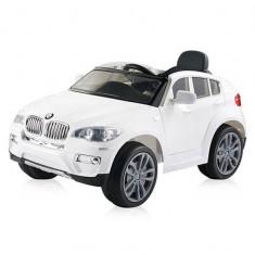 Masinuta electrica Chipolino BMW X6 white - Masinuta electrica copii