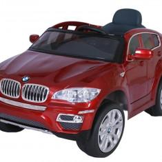 Masinuta electrica BMW X6, rosu metalizat - Masinuta electrica copii