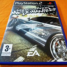 Need For Speed Most Wanted, NFS, PS2, original! Alte sute de jocuri!, Curse auto-moto, 3+, Single player, Ea Games