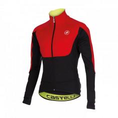 Jacheta de iarna Castelli Passo Giau, Rosu/Negru, iarna 2015, S Bike Collection - Geaca XXXL