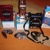 RADIO BOXA PORTABILA  MP3 PLAYER REDARE STIK USB SI CARD SD + LANTERNA SI RADIO, Digital