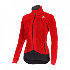 Jacheta de iarna Castelli Elemento 2 7X(AIR) W, de dama, Rosu Bike Collection - Geaca XXXL