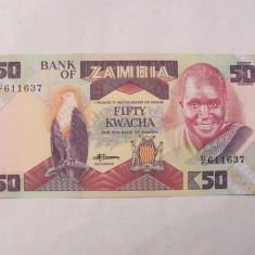 CY - 50 kwacha 1986 Zambia / UNC