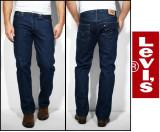 Jeans LEVIS 501 - OneWash si DarkStoneWash - Clasic FIT -, 30 - 34, 36, 38, 40, Albastru, Bleumarin, Lungi