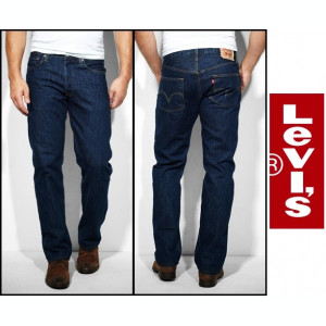 Jeans LEVIS 501 - OneWash si DarkStoneWash - Clasic FIT -