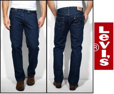 Jeans LEVIS 501 - OneWash si DarkStoneWash - Clasic FIT - foto